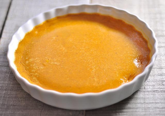 Low Fat Pumpkin Custard